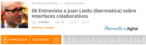 podcast interface colaborativo