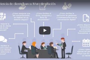 Vídeo-post Digital Banking: Muro de cliente, el canal directo de relación financiera