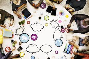 Social Online Learning