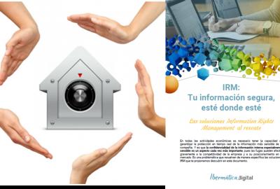 Imagen de la publicación IRM: Tu información segura, esté donde esté